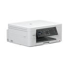 Impresora multifuncion de tinta Brother MFC-J497DW con WIFI , fax, conexion movil, impresion a doble cara y alimentador de documentos. Color blanco